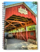 Old Trostle Town Bridge Spiral Notebook