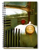 Old Truck Abstract Spiral Notebook