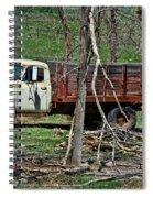 Old Truck At Rest Spiral Notebook