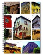 Old Turkish Houses Spiral Notebook
