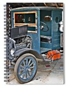 Old Tyme Auto Shop Spiral Notebook
