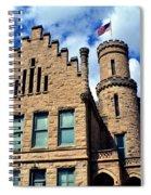 Old Vanderburgh County Jail Spiral Notebook