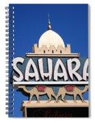 Old Vegas 3 Spiral Notebook