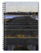 Old Village To Sullivan's Island Spiral Notebook