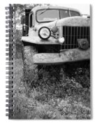 Old Vintage Dodge Work Truck Spiral Notebook