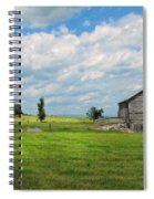 Old Virginia Barn Spiral Notebook