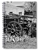 Old Wagon And Cooler Spiral Notebook