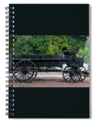 Old Wagon Spiral Notebook