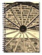 Old Wagon Wheel 1 Spiral Notebook