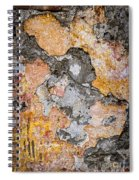 Old Wall Abstract Spiral Notebook