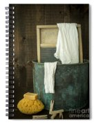 Old Washboard Laundry Days Spiral Notebook