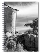Old Water Tower Spiral Notebook