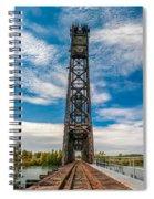 Old Welland Lift Bridge  Spiral Notebook