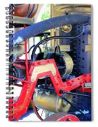 Old West Fire Wagon Spiral Notebook