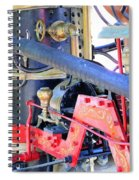 Old West Fire Wagon V2 Spiral Notebook