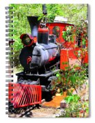 Old West Locomotive 2 Spiral Notebook
