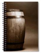 Old Whisky Barrel Spiral Notebook
