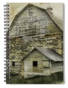 Old White Barn Spiral Notebook