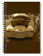 Old White Pickup Truck Spiral Notebook