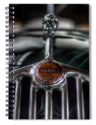 Old Wild Cat Spiral Notebook