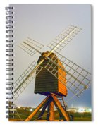 Old Wind Mill Spiral Notebook