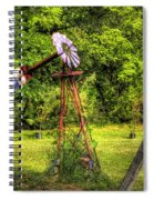 Old Windmill Spiral Notebook