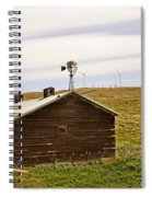 Old Windmill Vs New Windmills Spiral Notebook