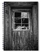 Old Window Spiral Notebook