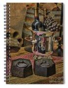 Old Wine Spiral Notebook