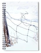Old Wire Fence Spiral Notebook
