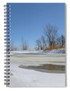 Old Woman Creek - Day After The Storm Spiral Notebook