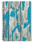 Old Wood Spiral Notebook