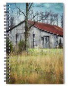 Old Wooden Barn Spiral Notebook