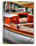 Old Wooden Sailboat Spiral Notebook
