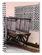 Old Wooden Wagon Spiral Notebook