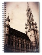 Old World Grand Place Spiral Notebook