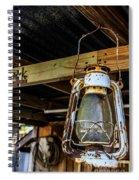 Old World Light Spiral Notebook