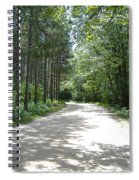 Old World Path Spiral Notebook