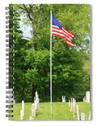 Old Yard Cemetery In Stowe Vermont Spiral Notebook