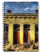 Old Yellow House In Buena Vista Spiral Notebook