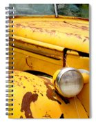 Old Yellow Truck Spiral Notebook