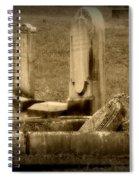 Olde Graves Spiral Notebook