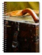 Olde Suit Case Spiral Notebook