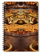 Olden Golden Spiral Notebook