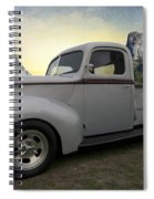 Older Classic Truck Spiral Notebook