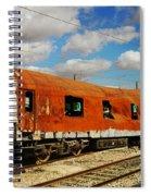 Oldie At Sidetrack Spiral Notebook