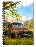 Oldie Goldie Spiral Notebook