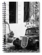 Oldtimer Ladies Spiral Notebook