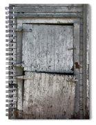Ole Barn Door Spiral Notebook