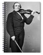 Ole Bornemann Bull (1810-1880) Spiral Notebook
